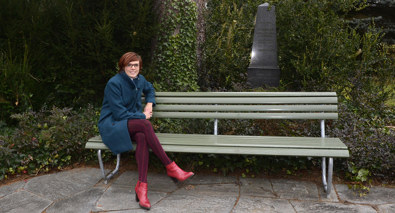 Hilft im Trauerfall: Angela Maria Villiger