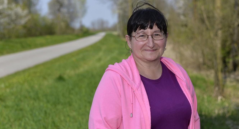 Pro Organspende: Christine Paccaud