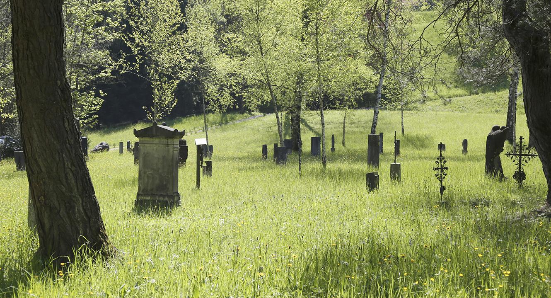 Friedhof Friedental in Luzern.