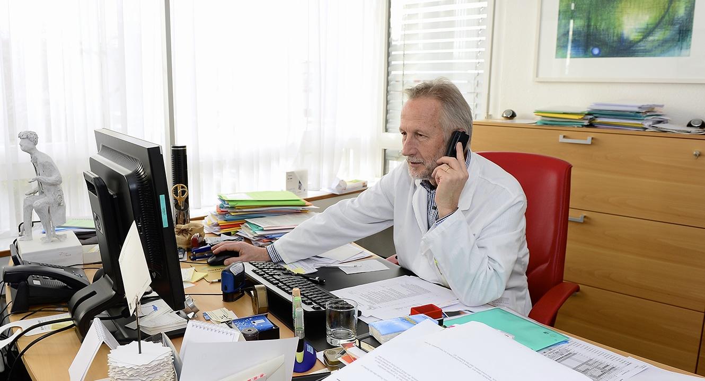 Dr. med. Roland Kunz, führender Palliativmediziner.
