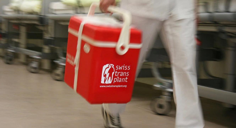 Transplantation: Organ-Transportbox