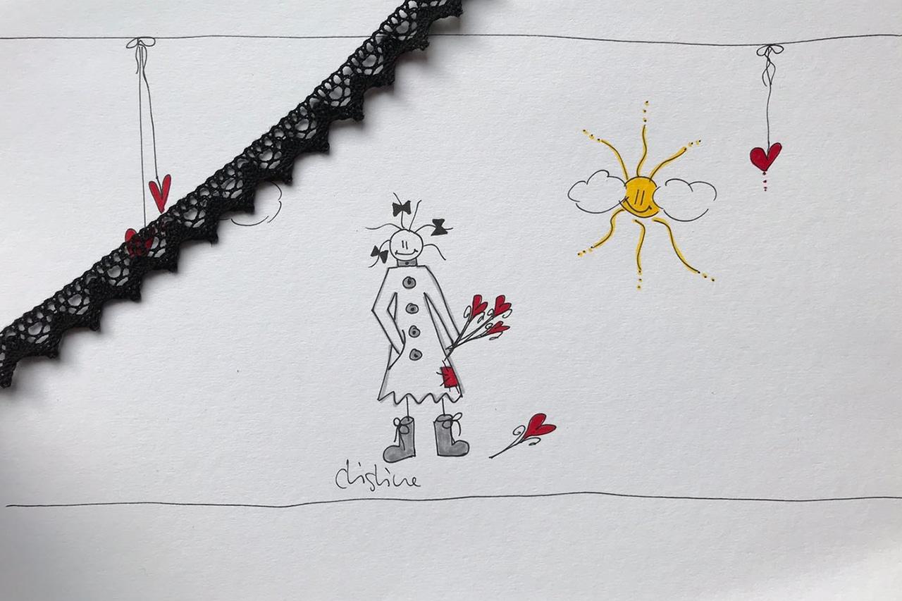 Tod. Diese Zeichnung ist der verstorbenen Mutter gewidmet. Illustration: Christine Friedli