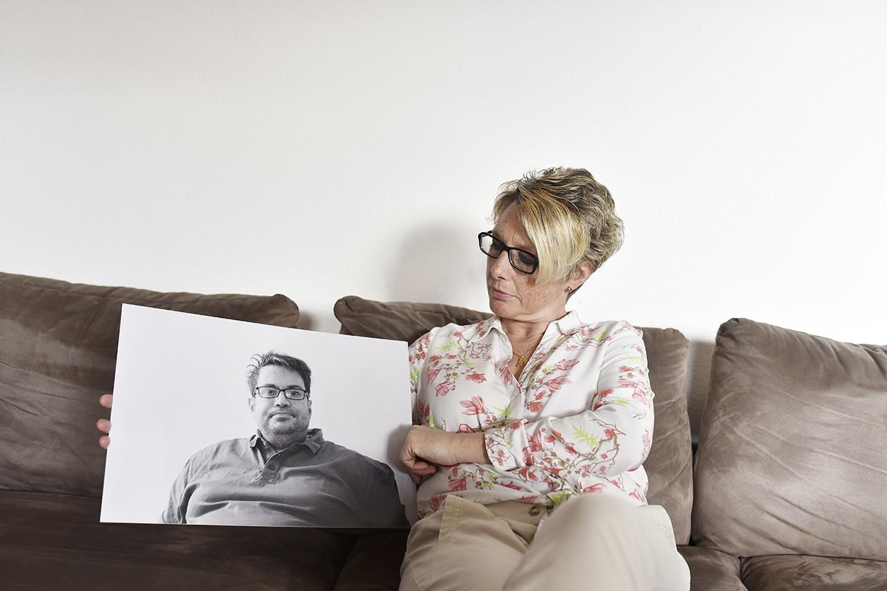 Nathalie De Febis Ehemann Gianluca leidet an Frontotemporaler Demenz