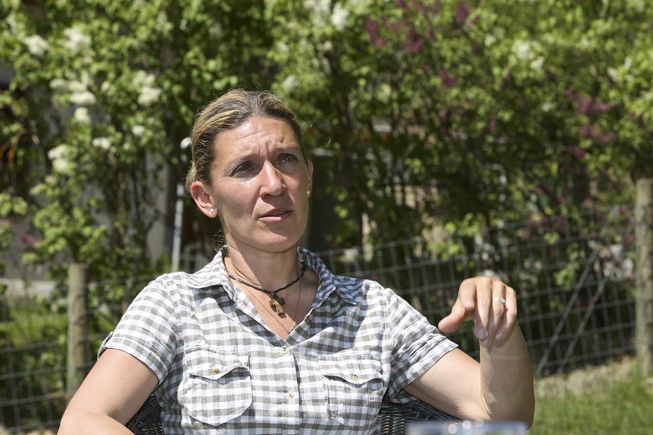 Sterbebegleiterin Caroline Hoerdt