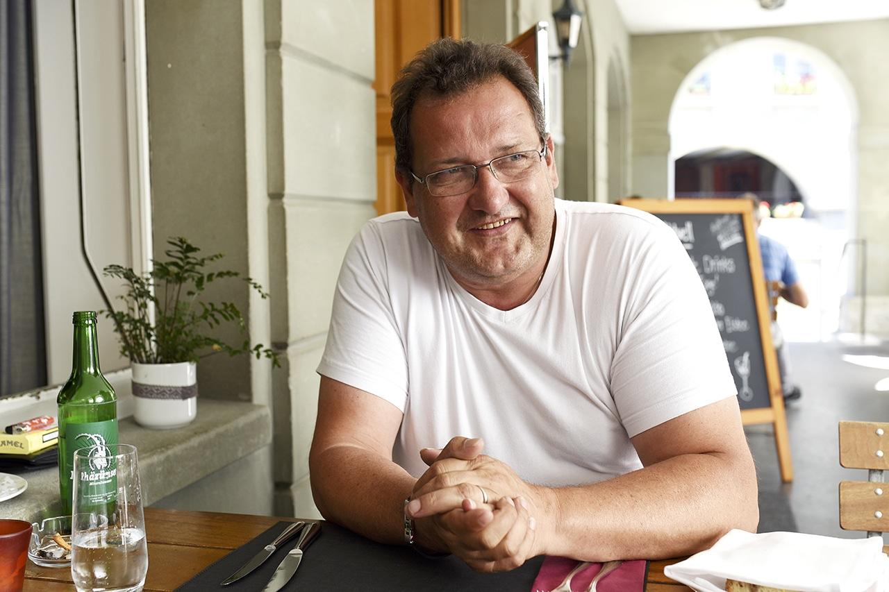 Sprach über Alkoholentzug: Hannes Hofstetter