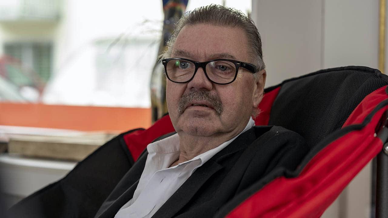 Krebspatient Peter R. Schwegler