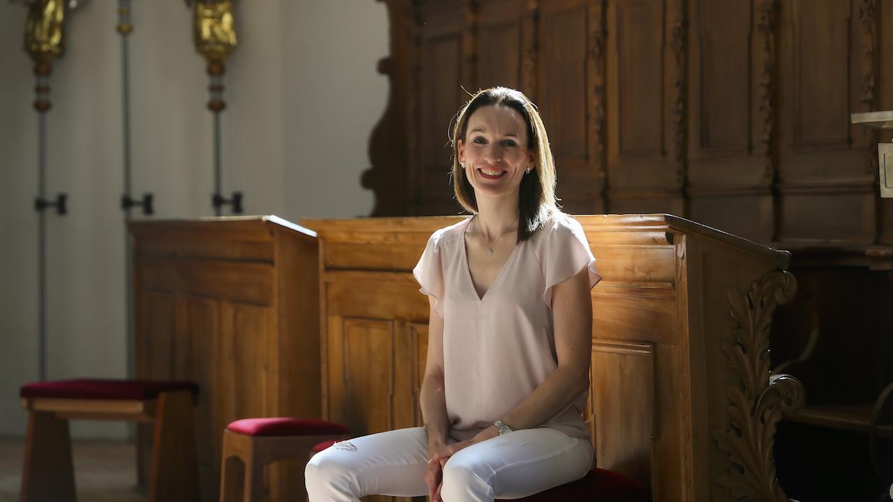 Freie Trauerrednerin und reformierte Pfarrerin Cindy Studer-Seiler,