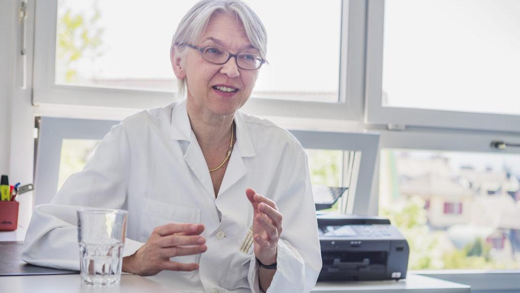 PD. Dr. med. Eva Bergsträsser, Leitende Ärztin am Kinderspital in Zürich