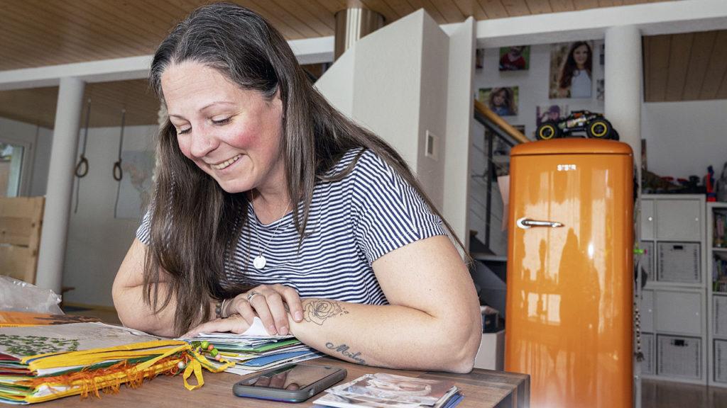 Nathalie Mäusli, Mutter eines verstorbenen Säuglings