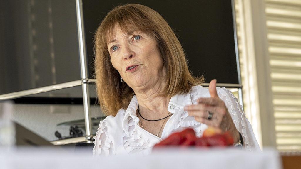 Therese Junker, freiwillige Flüchtlingshelferin