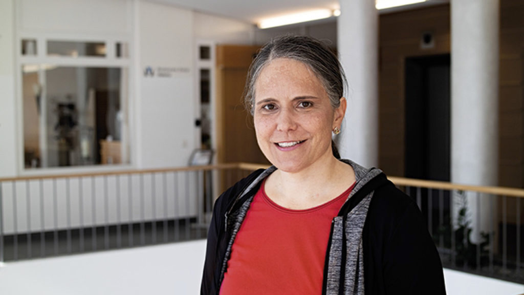 Rheumapatientin Andrea Möhr