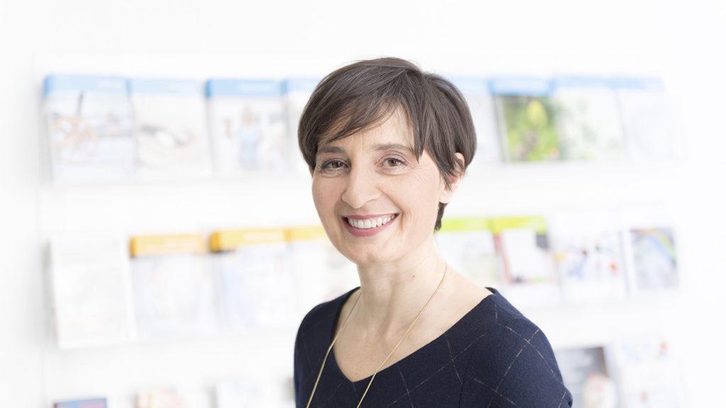 Valérie Krafft, Geschäftsleiterin der Rheumaliga Schweiz