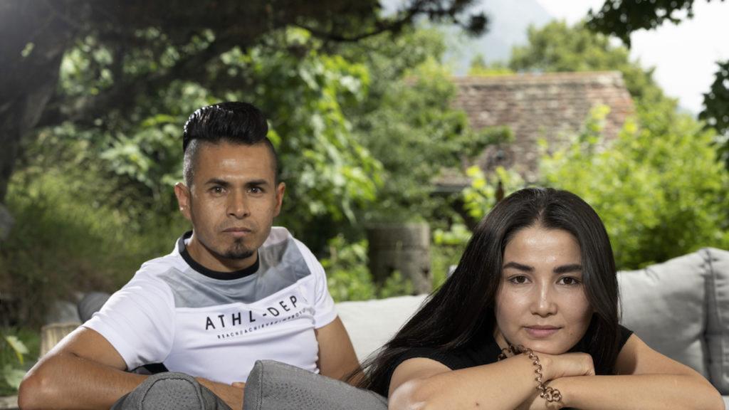 Flüchtete aus Afghanistan: Mohammad «Momo» Heydari mit Ehefrau Shirin
